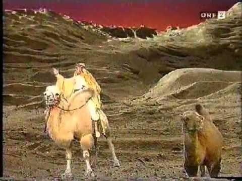 Rarität von Falco! Falco bei Hoppala mit seinem Song Amadeus feat. Camel, das Kamel