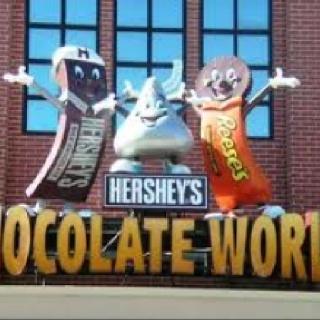 Hershey Factory in Pennslyvania!!