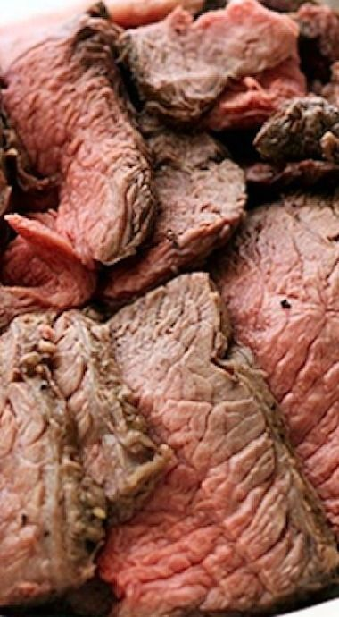 Perfectly Simple and Sliceable CrockPot Roast Beef... Lunch meat?