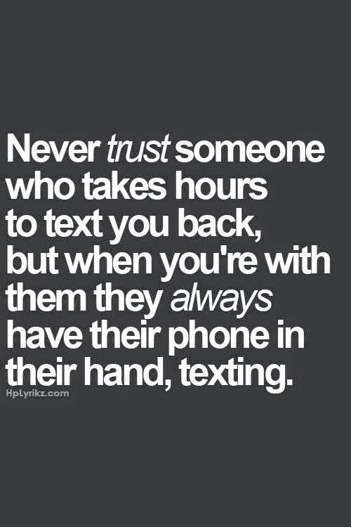how to know when to trust someone