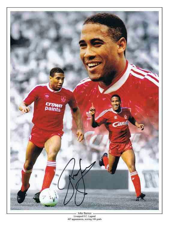 John Barnes of Liverpool - 1987-97.