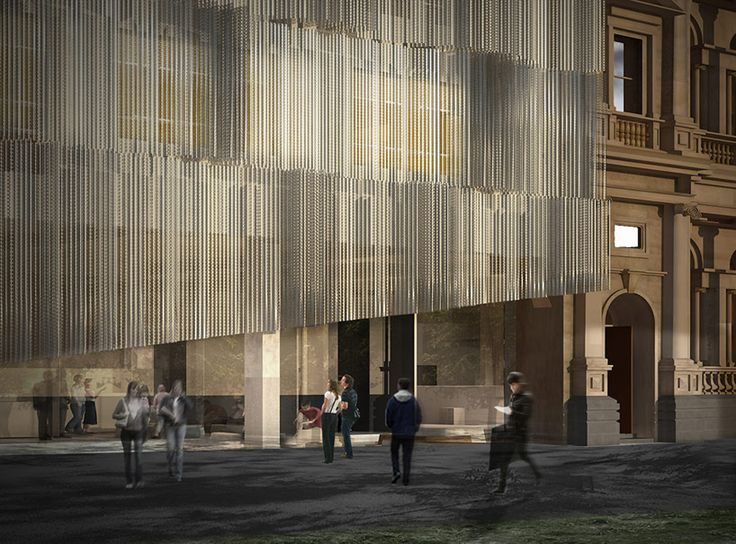NADAAA's winning design for university of melbourne