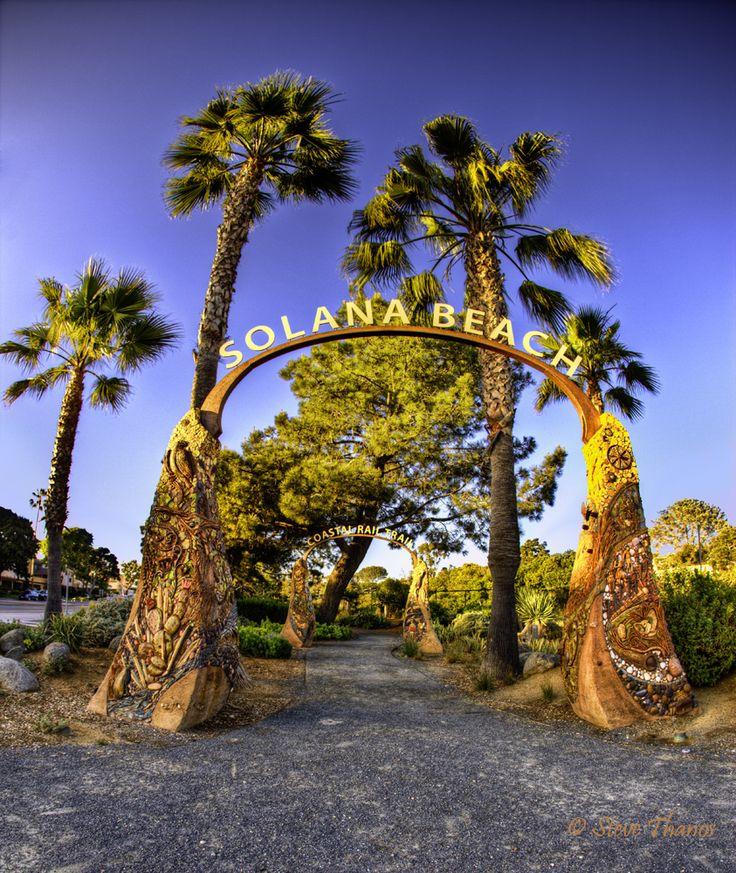 Solana Beach, California (north of San Diego)