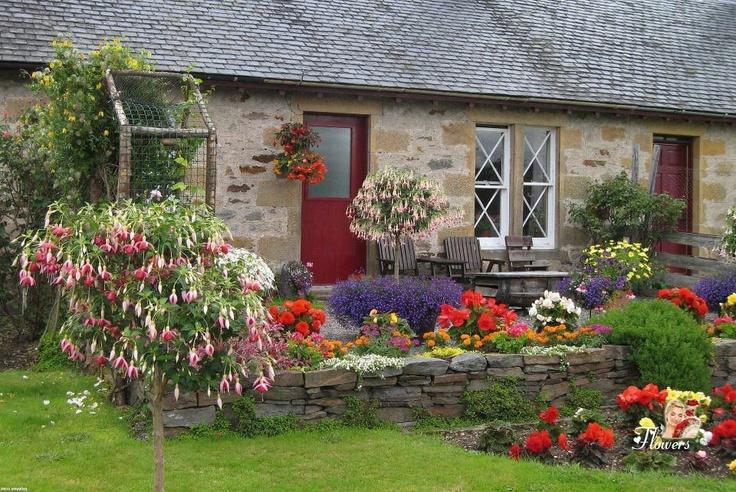 1000 images about cottage style on pinterest for Wilder garten anlegen