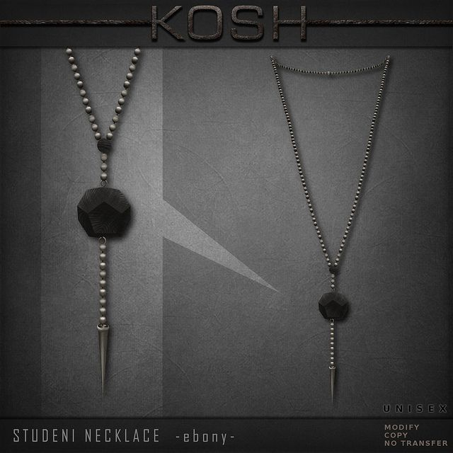 KOSH- STUDENI NECKLACE -ebony- PIC | Flickr - Photo Sharing!