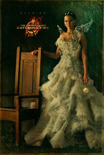 Catching Fire Character Portraits - Katniss Can't wait for the transformation! If you are dying for November - check out The Dark Days in the meantime and find out why Claudia Sheeplord started the Games in the 1st place. www.facebook.com/thedarkdaysseries