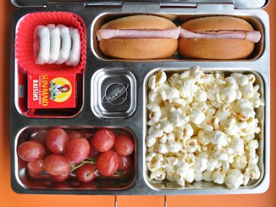 an alternative to the expensive movie concession stand prices, bring your own to the movies, filled with his/her   favorite goodies