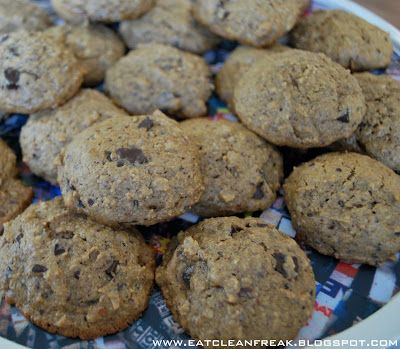 {gluten & dairy free} Chocolate Chip Oatmeal Cookies