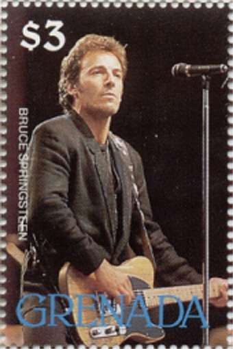 Why I collect stamps reason #21: So, it's not just the Beatles, it's Bruce, too.