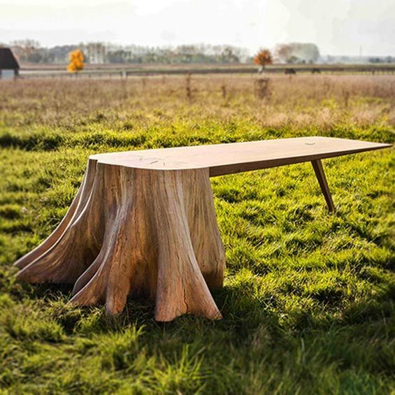 1000 ideas about table tronc d arbre on pinterest tronc d arbre tables rouleau en bois and. Black Bedroom Furniture Sets. Home Design Ideas