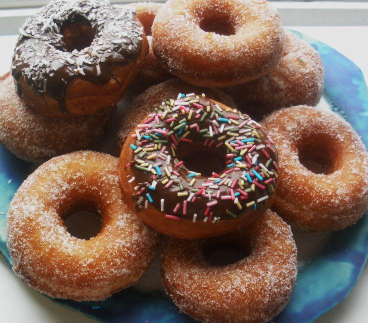 Absolut Godaste receptet på Munkar / Donuts!