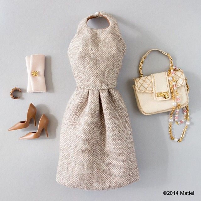 Starting the week off in style with this ladylike look.  #barbie #barbiestyle