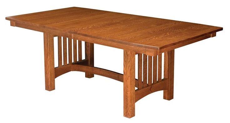 Amish Bellingham Trestle Table