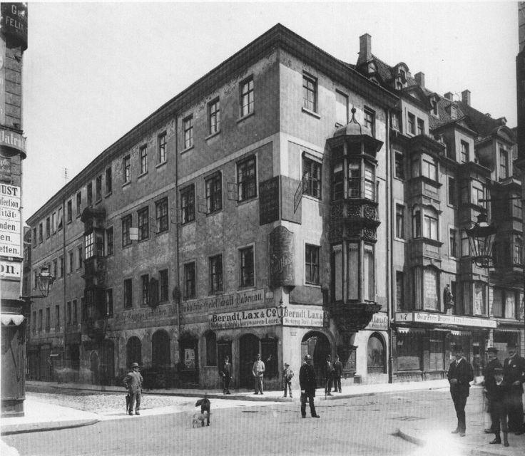 Reichsstraße / Grimmaische Straße um 1895