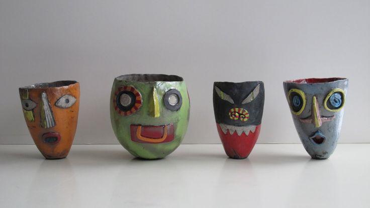 17 Best Images About Face Pots On Pinterest Ceramic Vase