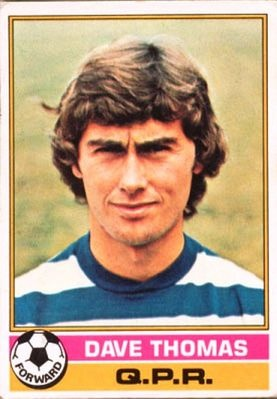 A great 1970's winger. Dave Thomas, Burnley, QPR and Everton.