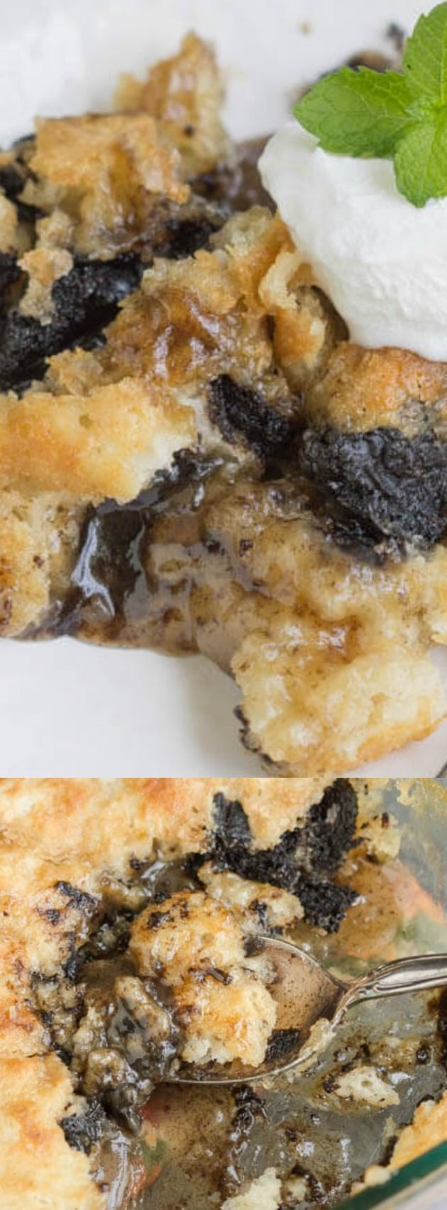 This Oreo Cobbler from Paula over at Call Me PMc is an easy dessert recipe that you are going to wish you tried sooner. Only 3 steps stand between you and complete deliciousness. If you love Oreo Cookies and drool-worthy ooey, gooey cobblers then this recipe is for you!