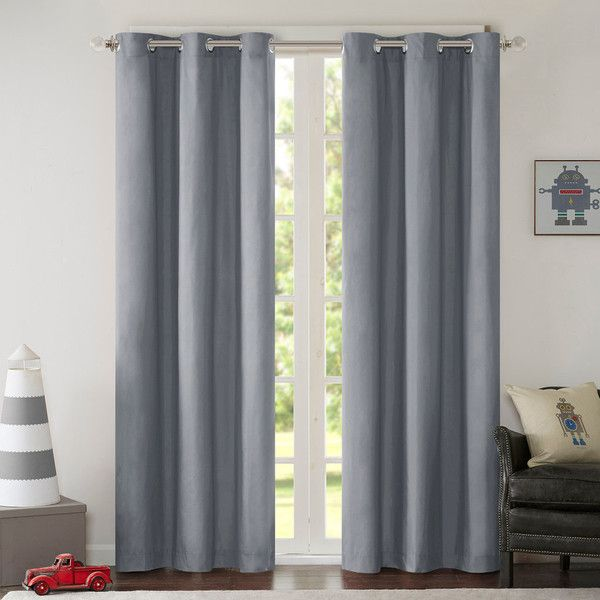 Mi Zone Adam Blackout Window Curtain Set ($70) ❤ Liked On Polyvore  Featuring Home
