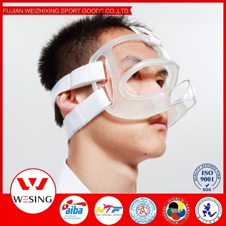 107.50$  Buy here - http://ali5lr.worldwells.pw/go.php?t=32565974470 - 2015  pc  tpr  karate mask protective mask pc  tpr  approved wkf