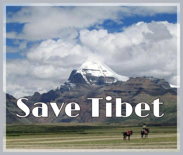 Save Tibet(2). #China #FreeTibet #Tibet #SaveTibet