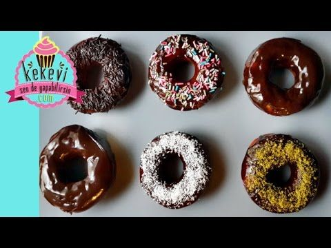 Donut Nasıl Yapılır? Çikolata Kaplı Donat Tarifi / Ayşenur Altan Yemek T...