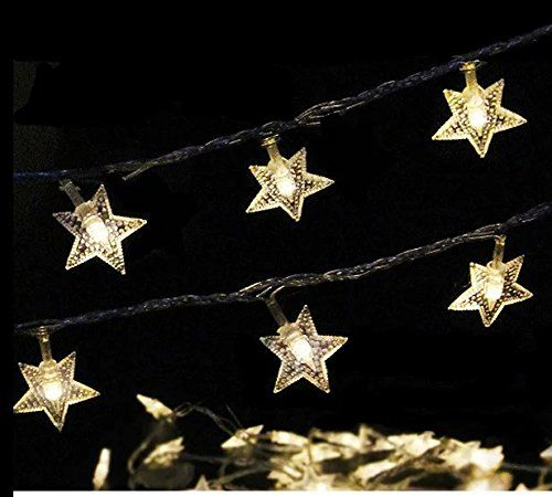 4m/13ft 40 LED Battery Powered Star Light String , Home And Outdoor Fairy  Light