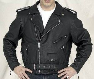 100% Genuine Sheep Leather Gent's Jackets new Style Mens Leather Biker Jacket JG336 Size: Closed size: Small, Mediem, Large and XL.