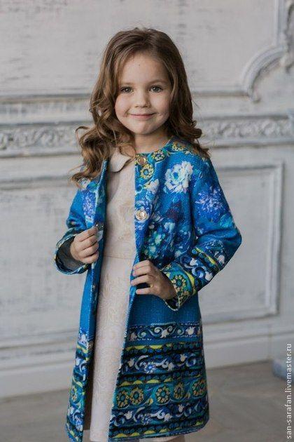 Детское летнее пальто. Handmade.