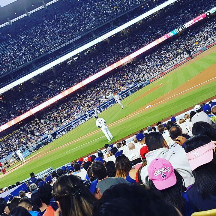 THINK BLUE: Dodgers vs angels thanks #laquebuena by xxayeelenaxx