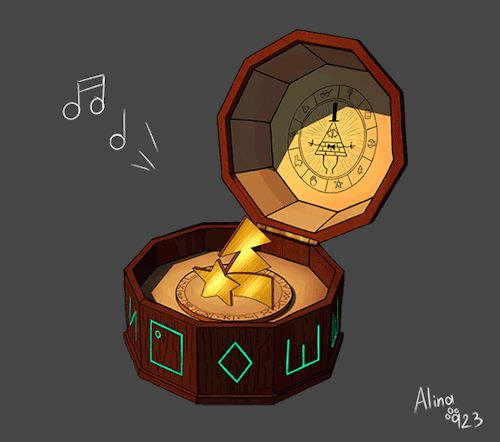 Gravity Falls- Mystery BoxAnd remember: Trust No One!                                                                                                                                                                                 More