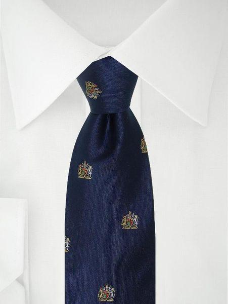 Marine Blauwe Stropdas Royal Club