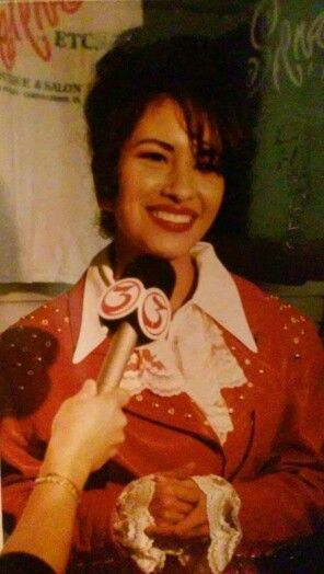 Selena Quintanilla at the opening of her Corpus Christi Boutique Selena Etc