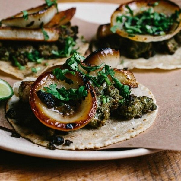 "The former sous chef at foodie-mecca Noma in Copenhagen, Rosio Sanchez can't get enough of the rich culinary traditions and superb ingredients in Oaxaca, Mexico. Travels here inspired her to open a new taco stand, Hija de Sanchez, in Copenhagen. ""In markets like Tlacolula, you can pick what you ..."