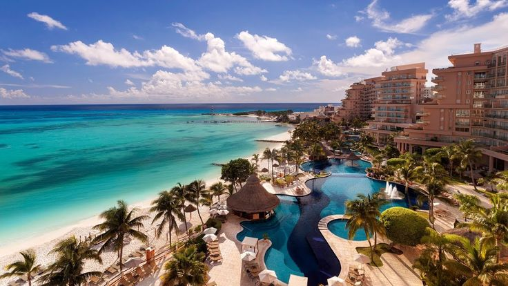 Top 10 5-star Beachfront Hotels & Resorts for Family in Cancun, Mexico