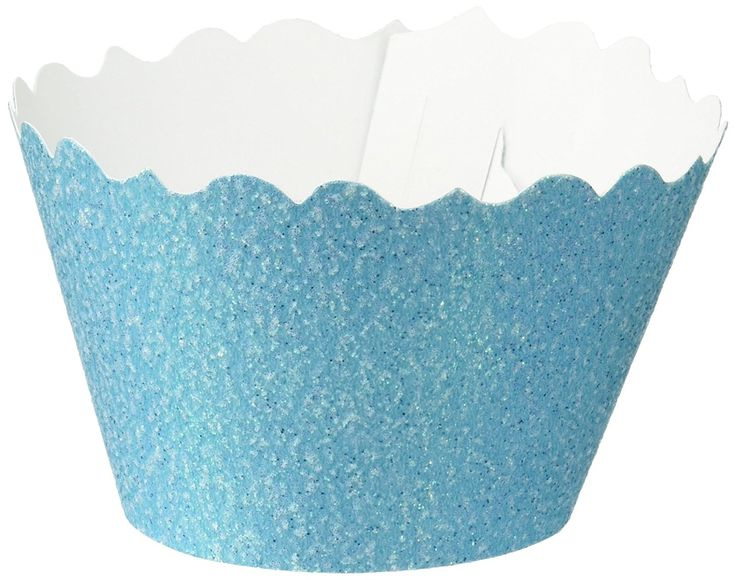 Bella Cupcake Couture 633131980295 Glitter Cupcake Wrappers, Sparkling Waters Blue, Set of 12 *** Quickly view this special  product, click the image : Bakeware