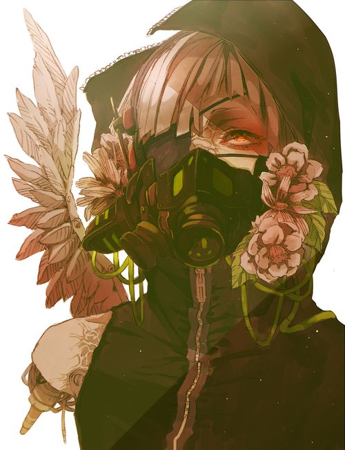 Gas Mask Art
