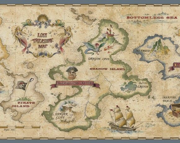 Free Printable Pirate Treasure Map Google Search