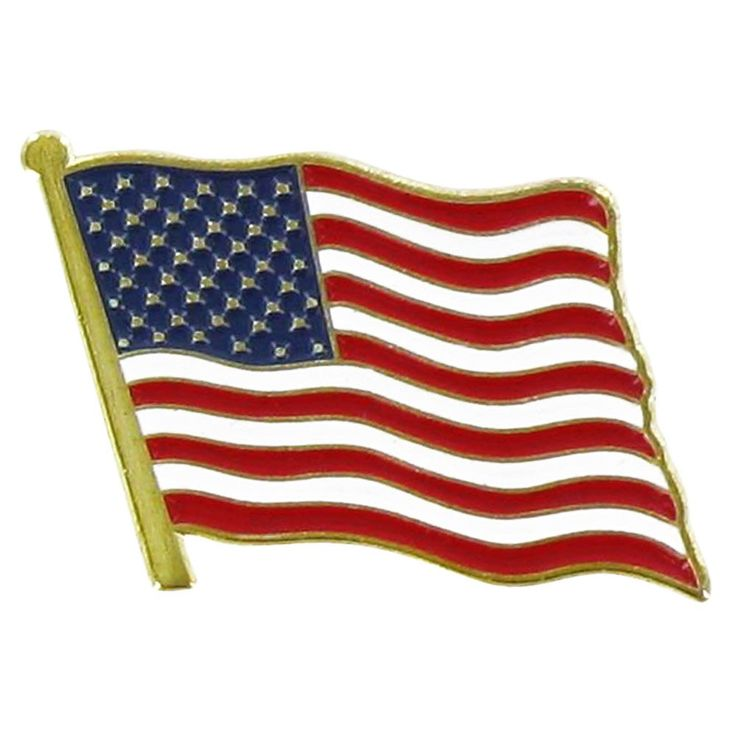 Banned Pins Flag Has Abc American