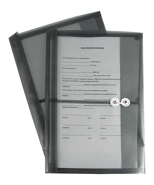 Look at this Smoke Five-Pack Reusable String-Close Legal Size Envelope Set on #zulily today!