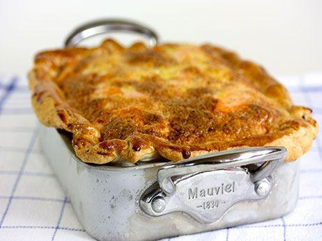 Quiche med varmrøget ørred Skagenfood A/S