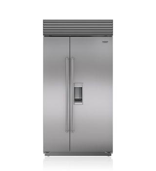 "Sub-Zero 42"" Built-In Side-by-Side Refrigerator/Freezer with Dispenser BI-42SD/S"