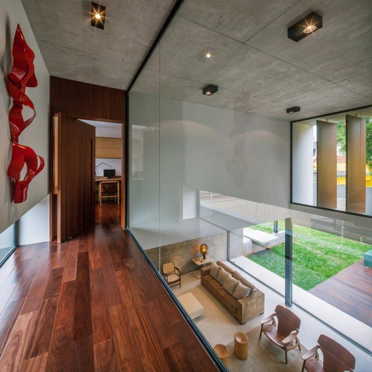 planalto house 10 Complex Urban Living Space in São Paulo: Planalto House by Flavio Castro