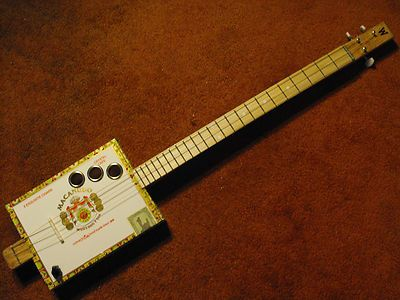 how to play cigar box guitar 3 string 1