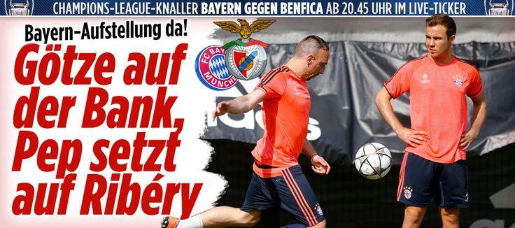 Nach DFB-Gala und Pep-Lob | So stehen die Chancen, dass Götze auch heute spielt http://www.bild.de/sport/fussball/mario-goetze/so-stehen-die-chancen-dass-er-spielt-45215764.bild.html