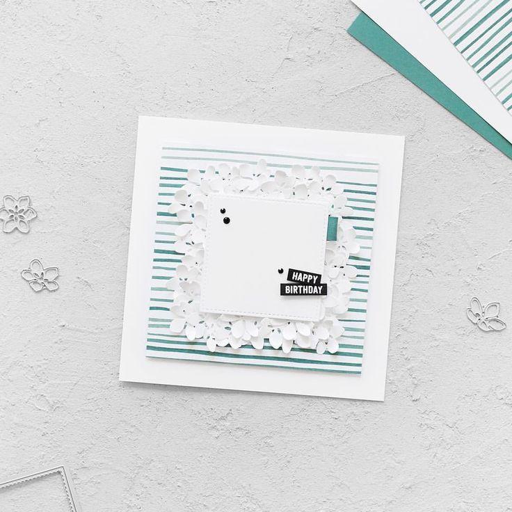 510 best Geburtstagskarten images on Pinterest | Bricolage, Card ...