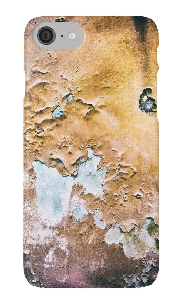 Peeling wall by Silvia Ganora - #phonecases #iphonecases #galaxycases #abstract #decay #grunge