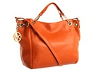 A nice tangerine bag like this one is still on my wishlist... from Michael Kors $268 #fashion Postbag