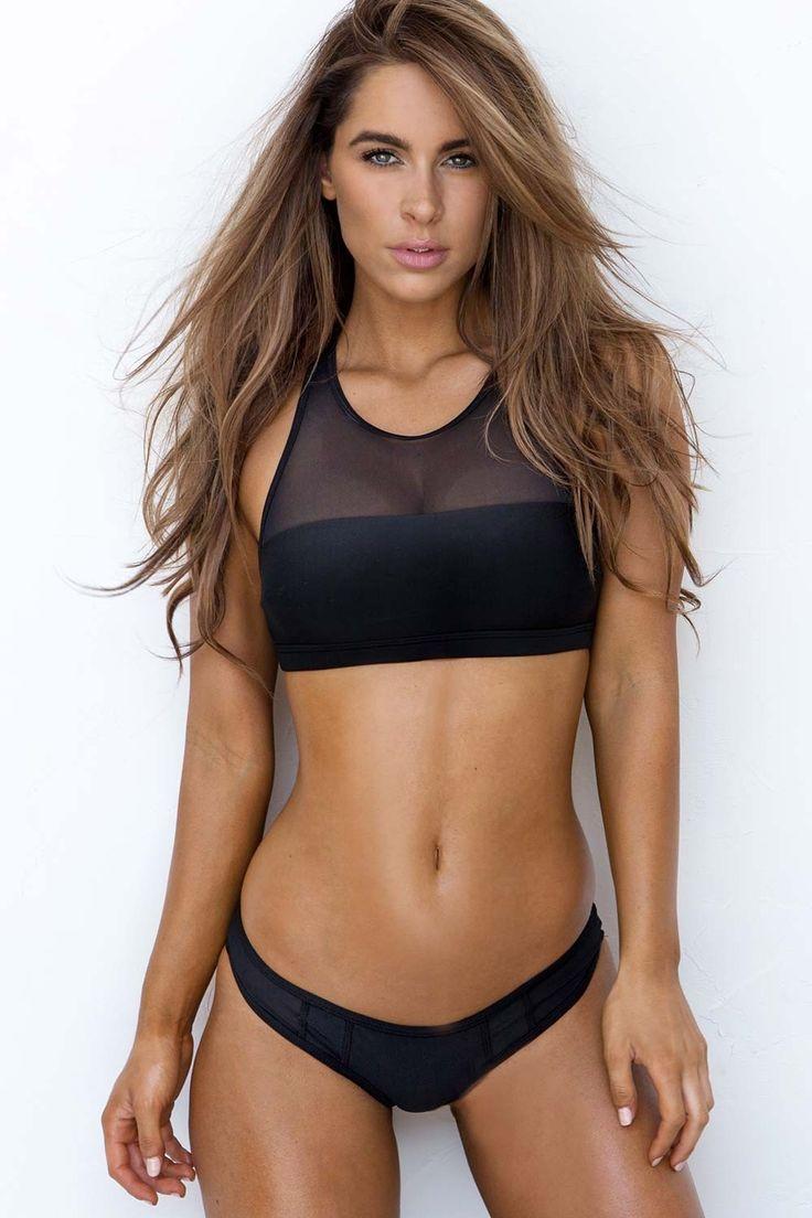 Sporty Mesh Bikini Set Black