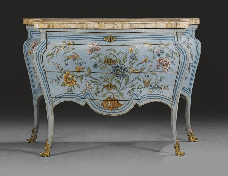 An Italian gilt-bronze-mounted pale blue and polychrome lacquered  chinoiserie commode, Rome. Art FurnitureAntique ... - 116 Best Chinoiserie Lacquer & Japanning Images On Pinterest