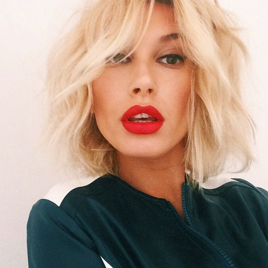 Hailey Baldwin: Best Pout ... Yes, of that Baldwin family.